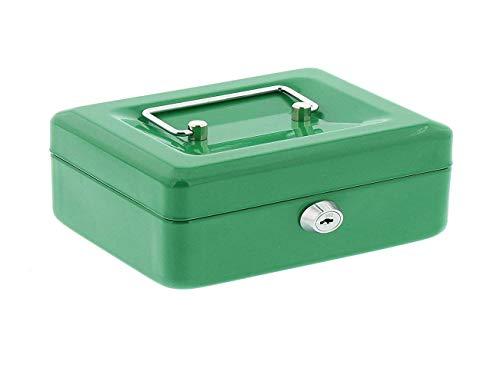 Kippen 10003V3 Cassetta Portavalori Verde. Misure: 250X180X90 MM