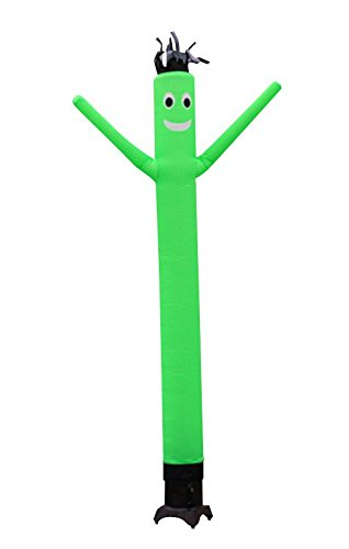 LookOurWay Air Dancers Inflatable Tube Man Attachment, 10-Feet, Green (No Blower)