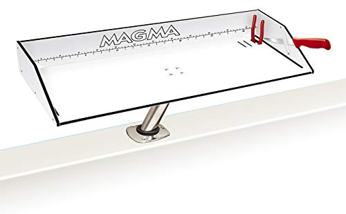 Magma Products Bait/Filet Mate & Levelock Mount Combination, White/Black/White, 31""