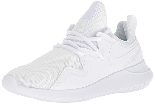 Nike Damen WMNS Tessen Sneakers, Weiß (White/White/Black 001), 42.5 EU