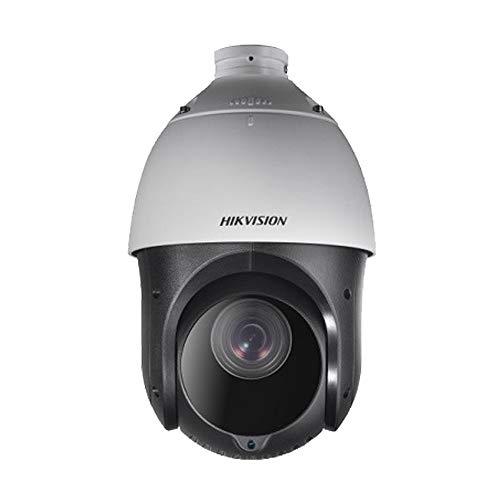 Cámara de Domo IP motorizada HIKVISION de 2 MP para Interior/Exterior con Clase de protección IP66. Visión Nocturna de 100 m y Zoom óptico Grabación en Tarjeta Micro SD y PoE