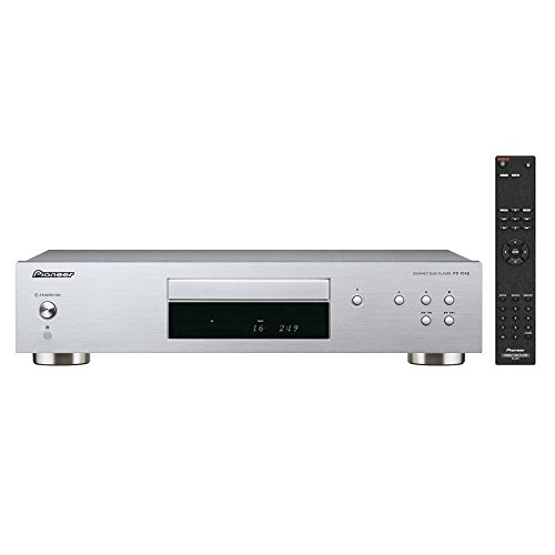 Pioneer PD-10 AE-S Pure-Audio-CD-Player mit Silent-Drive-Laufwerk und 10ppm-Precision-Clock, Silber