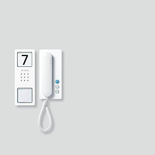 kompakten Audio Siedle Set CA 812–1Reihe w der weißen Audio Signal Siedle Lautsprecherset Kompakt