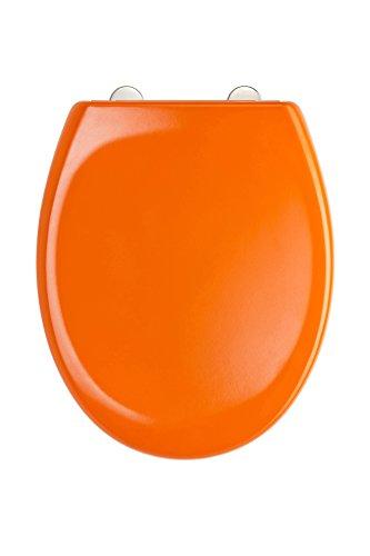 WC Sitz Duroplast, mit Absenkautomatik und Schnellverschluss, Orange, ED69310OR