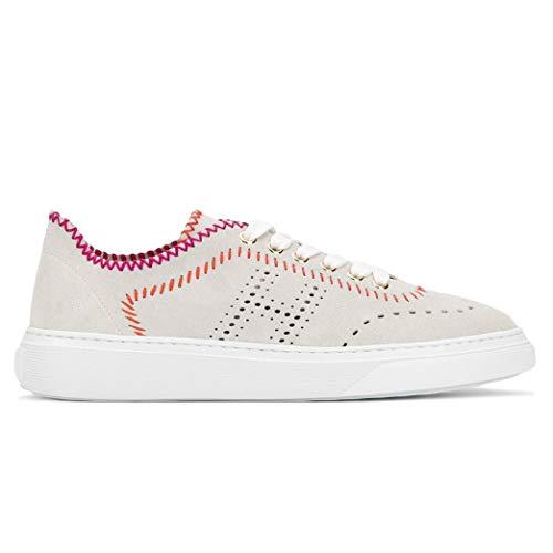 Hogan Sneaker H365 ijs met bonte naden - HXW3650BF80 FFY1556 - maat