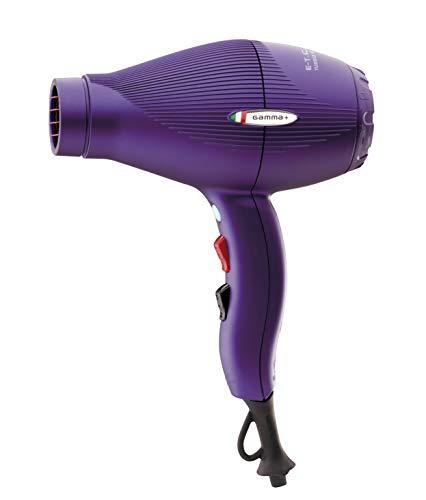 Gamma Piu ETC Light - Secador de pelo, color violeta opaco