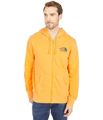 The North Face Men's Image Ideals Full Zip Hoodie, Light Exuberance Orange, XXL