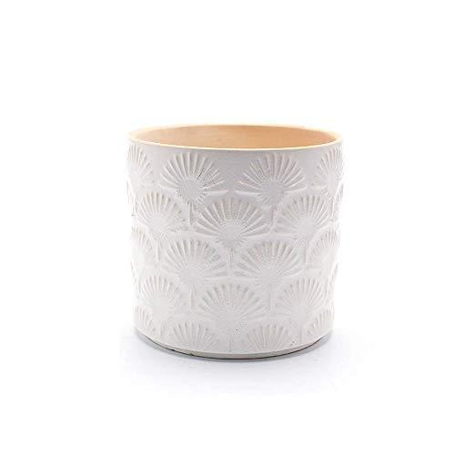 ETDWA Maceta de cerámica Nórdica Artesanía Antigua Maceta de cerámica Decoración del hogar Oficina Jardinera suculenta Plantas en macetas Verdes Bonsai en Maceta Jardinera de Hierbas para Exterior