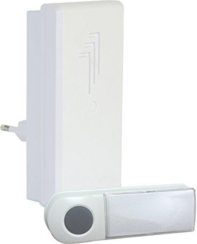 Elro draadloze deurbel met deurbel voor het stopcontact 1 x bel & 1 x plug-in deurbel.