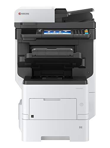 Kyocera Klimaschutz-System Ecosys M3860idnf 4-in-1 Multifunktionsdrucker, 3 Jahre Kyocera Life vor Ort Garantie, Schwarz-Weiß, integrierter Finisher, 60 Seiten pro Minute mit Mobile-Print-Funktion