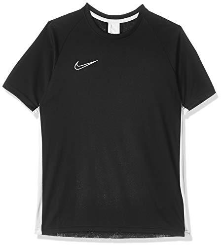 Nike Jungen Dri-Fit Academy T-shirt, Schwarz (Black/White/White), S