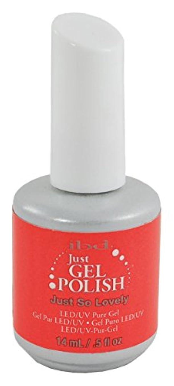比類なきだます驚IBD Just Gel Polish - Just So Lovely - 0.5oz / 14ml