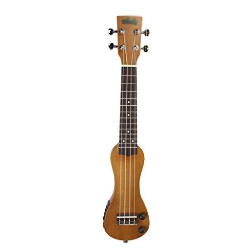 Ukelele de concierto Auriculares enchufables de audio externo de Ukulele puro, silencio, ukulele, principiantes, uso externo