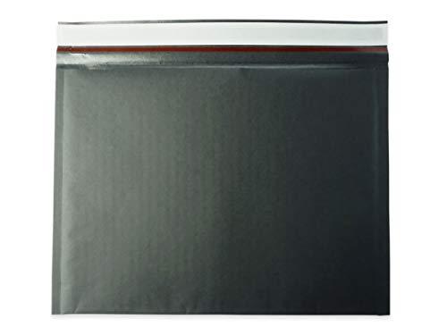 アリアケ梱包 薄い クッション封筒 クリックポスト ゆうパケット MAX 黒色 (300枚セット)