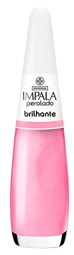 Esmalte Perolado Brilhante, Impala Cosmeticos, Rosa