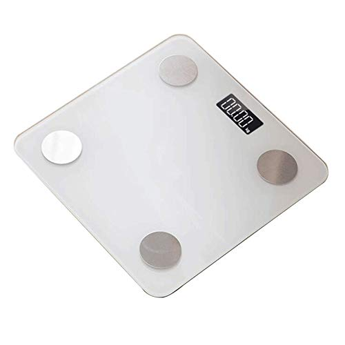 LJKD Bluetooth Body Fat Scale Digital Bathroom Scales Body Composition Monitor for Body Weight Body Fat, BMI, Water, Muscle Mass Bone