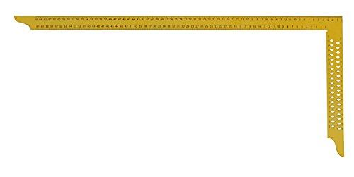hedue Y082 Zimmermannswinkel ZY 800 mm mit mm-Skala Typ A und Anreißlöcher