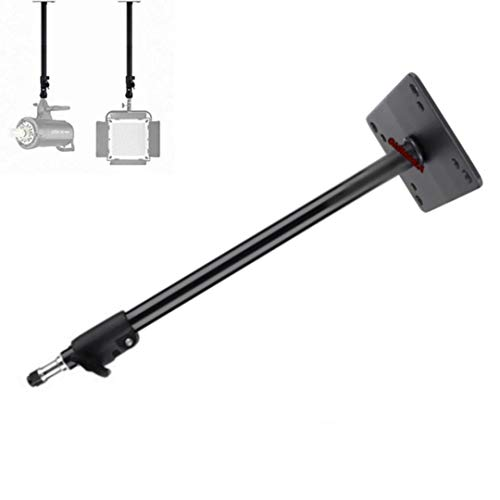 VTS Video/Still Photography Studio Wall Ceiling Mount Arm Stand Boom Overhead with 1/4″ Thread for Camera Photo Studio Video Strobe Light, Flash, Ring Light