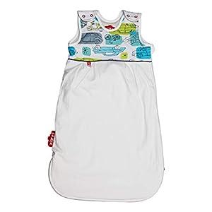 Saco de dormir para 4 estaciones para niños en 3 tamaños y muchos diseños – Saco de dormir transpirable para un sueño…