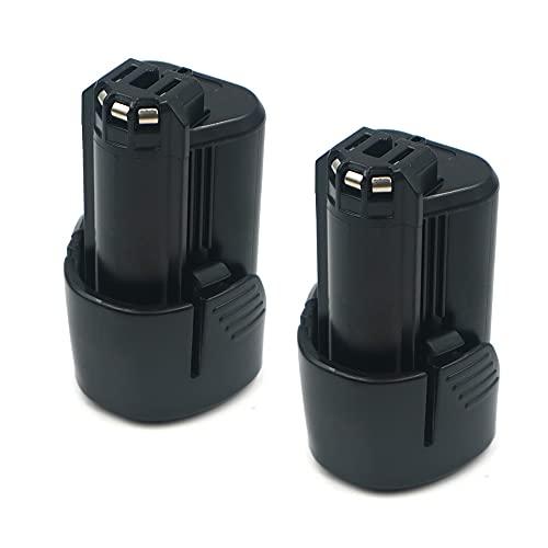 2pack heshunchang battery 10.8V 1500mAh replace for bosch BAT411 BAT411A BAT412 BAT412A BAT414 BAT420 D-70745 PS40-2 PS20-2 Lithium