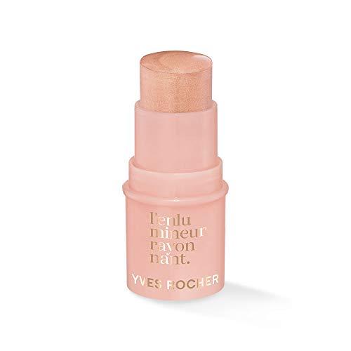 Yves Rocher Couleurs Nature Highlighter-Stick - Rose crème, für einen strahlenden Teint, 1 x Stick 4,8 g
