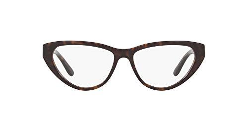 Ralph Lauren 0RL6188 Monturas de gafas, Dark Havana, 53 para Mujer