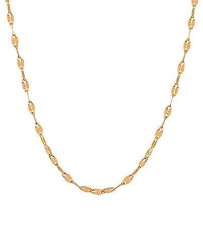 VIDAL & VIDAL Collar colección Essentials de Plata acabada en Oro 18Kt