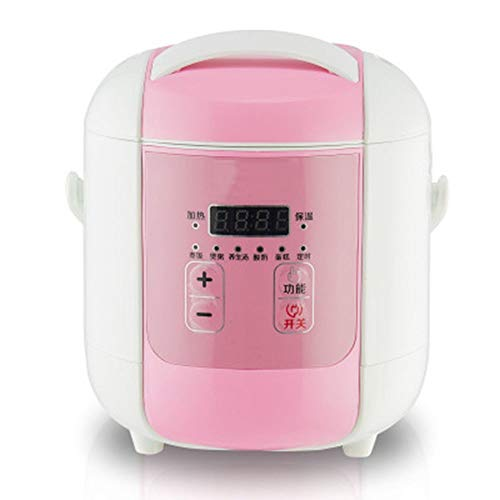 Best Buy! EAHKGmh Rice Cooker Small Multi-function 1.6L Home Mini Smart Appointment Timed Cover Remo...
