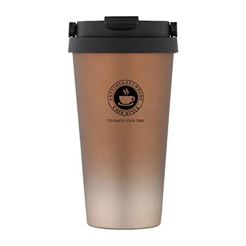 N\C 2021 Nuova Tazza Da Caffè Portatile, Thermos All'interno E All'esterno, con Tazza In Acciaio Inossidabile 304