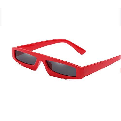 CHUSHENG Gafas de Sol cuadradas pequeñas, Lentes para Hombres Polar Sports Conducción...