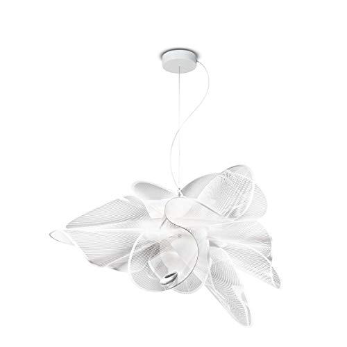 La Belle Etoile Kunststoff Hängeleuchte Slamp weiß | Handgefertigt in Italien | Pendelleuchte Modern Design Dimmbar | Lampe LED