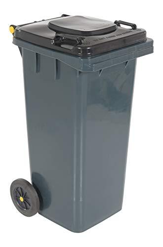 Vestil TH-32-GY Polyethylene 32-Gallon Trash Can,...