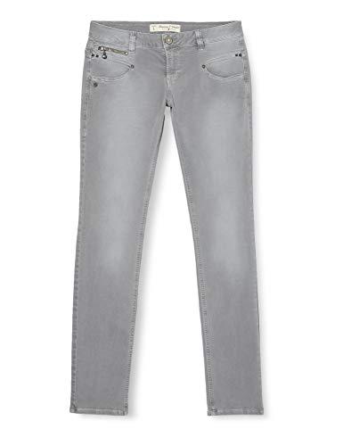 FREEMAN T.PORTER Damen Alexa Slim New Magic Color Hose, Grau (Smart F114), W30 (Herstellergröße: L)