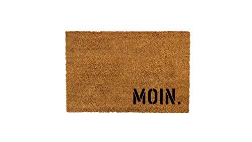 MOIN. Kokos-Fußmatte | Fußabtreter | Türvorleger | Teppich | 40 x 60...