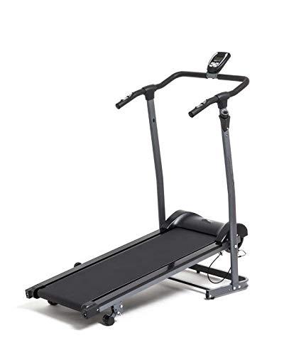 Homathlon Tapis roulant Magnetico FD Race Mag Inclinazione Manuale 3 livelli Portata 100 kg