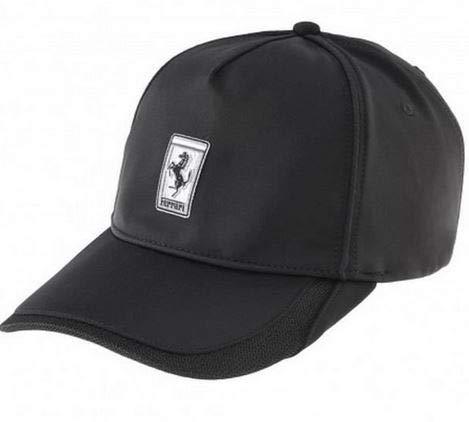 Ferrari Gorra Base-Ball Oficial Product Negro