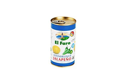 El Faro - Oliven mit Jalapeno Gefüllt 150 g