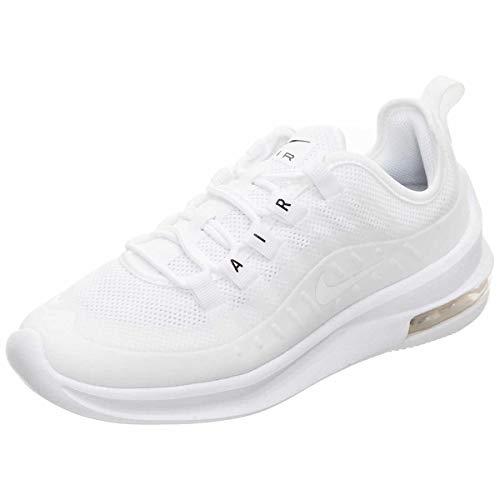 Nike Wmns Air Max Axis, Scarpe da Ginnastica Basse Donna, Bianco (White/White-Black 100), 37.5 EU