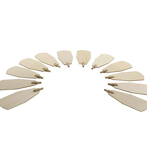 Kunsthandwerkstube Pyramidenfl/ügel Sperrholz 6 cm ohne Schaft