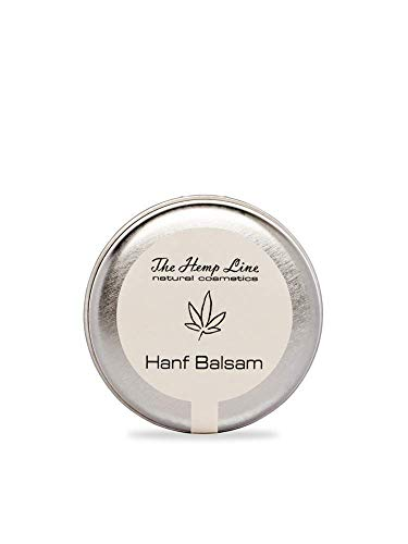 Hanf Balsam mit Ringelblume für strapazierte, empfindliche & trockene Haut & Lippen - natürliche Kosmetik von The Hemp Line (20 g)