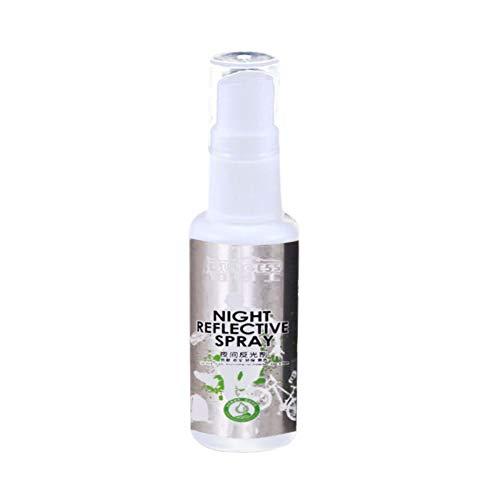 Blanchel Spray Reflectante Nocturno Agente Luminoso Pintura Reflectante Seguridad contra Accidentes Agente Caminante Nocturno Agente Luminoso Fácil de Limpiar