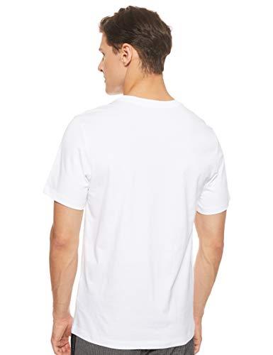 Nike Sportswear, T-Shirt Uomo, White/Dark Grey, M