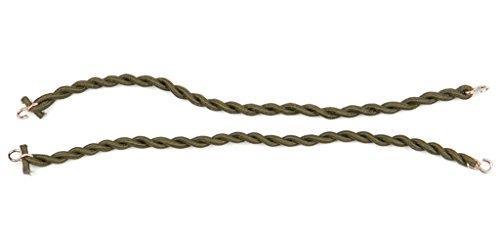 A. Blöchel 1 Paar BW Elastische Gummibänder für die Hosenbeine Hosengummi Gummibänder zum Umschlagen der Hose (Oliv)