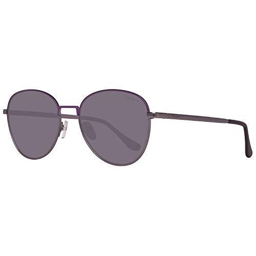 Pepe Jeans PJ5136C454 Sonnenbrille PJ5136 C4 Becca Oval Sonnenbrille 54, Grau