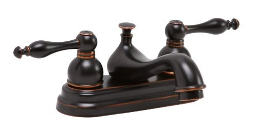Premier Faucet 119269 Wellington Watersense Lead Free Widespread Two-Handle Lavatory Faucet Parisian Bronze
