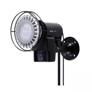 OPTEX LEDセンサーライト 接点出力・ON/OFFタイプ 壁面・天井取付可能 LA-1LED(PS)
