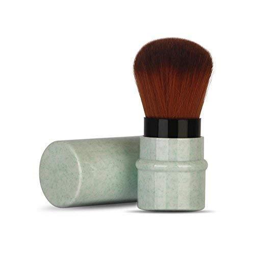 Pinceaux Maquillage de Maquillage pour Fard à Joues, Poudre, Fond de Teint, Cache-cernes Beauté Maquillage Brosse Cosmétique Professionnel(Vert)