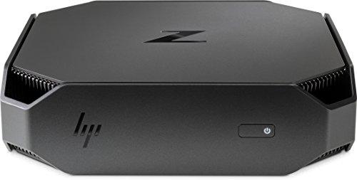 HP 2wx50ut # ABA Workstation Z2Mini G3Entry, 8GB RAM, 256GB SSD, Intel HD Graphics, schwarz/grau