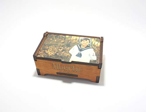Caja personalizada con imagen y foto modelo stell