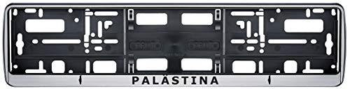 Auto Kennzeichenhalter Palästine Palastina v1 Fahne Flagge 2 Stück
